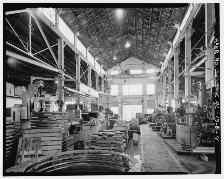 EXTERIOR_NORTH,_FLOOR_LEVEL._-_Hardie-Tynes_Manufacturing_Company,_Machine_Shop,_800_Twenty-eighth_Street,_North,_Birmingham,_Jefferson_County,_AL_HAER_ALA,37-BIRM,33B-4.tif